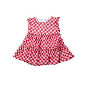Mayoral gingham blouse